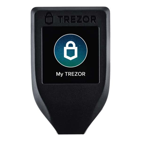 хардуерен портфейл trezor model t