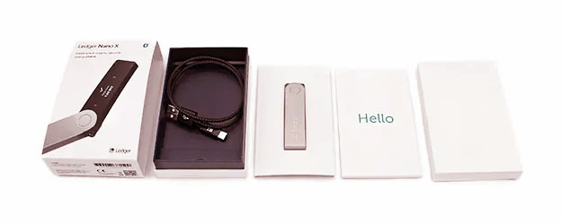 Ledger Nano X пакет